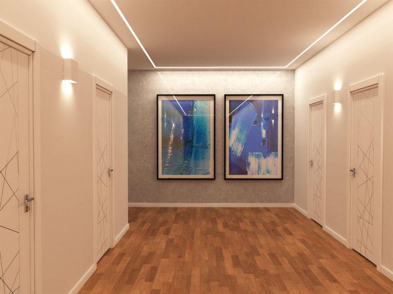 Veletta Incasso Illuminazione corridoio VI401
